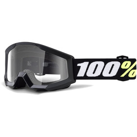 100% Strata Mini Anti Fog Clear Maschera nero